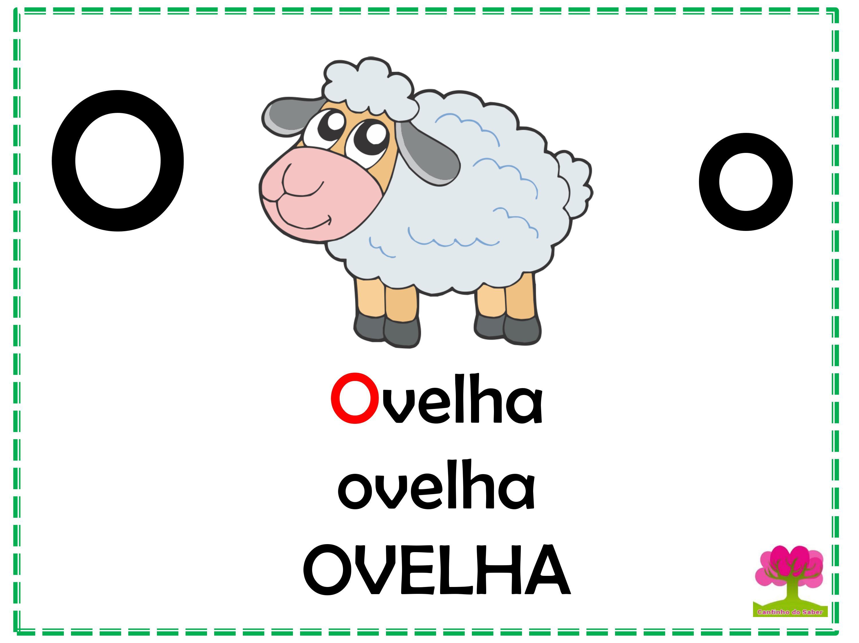 Alfabeto Colorido em Letra Bastão para Imprimir O