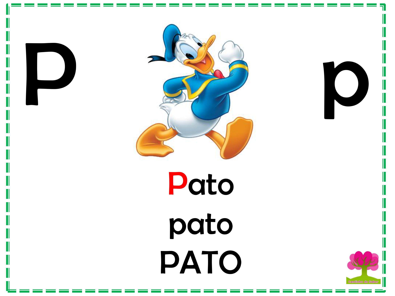 Alfabeto em Letra Bastão para Imprimir P