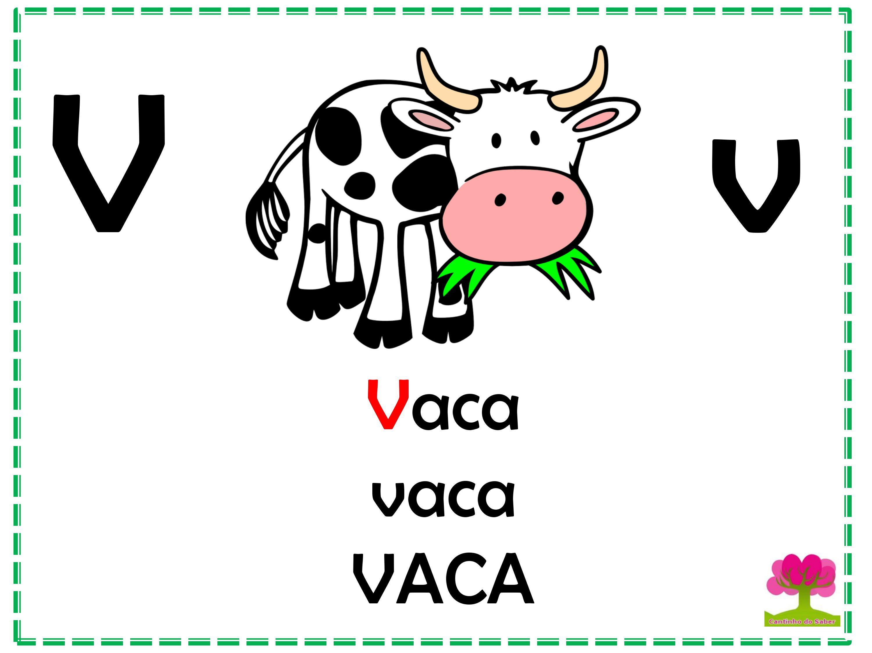 Alfabeto em Letra Bastão para Imprimir V