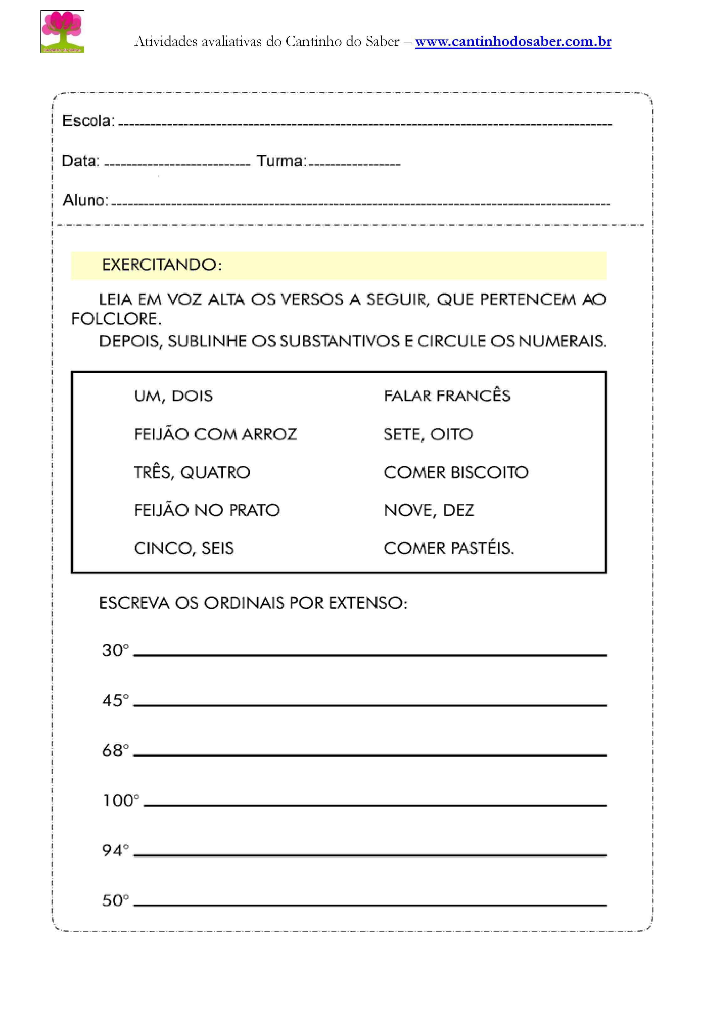 Atividades de portugues para o quarto ano (11)