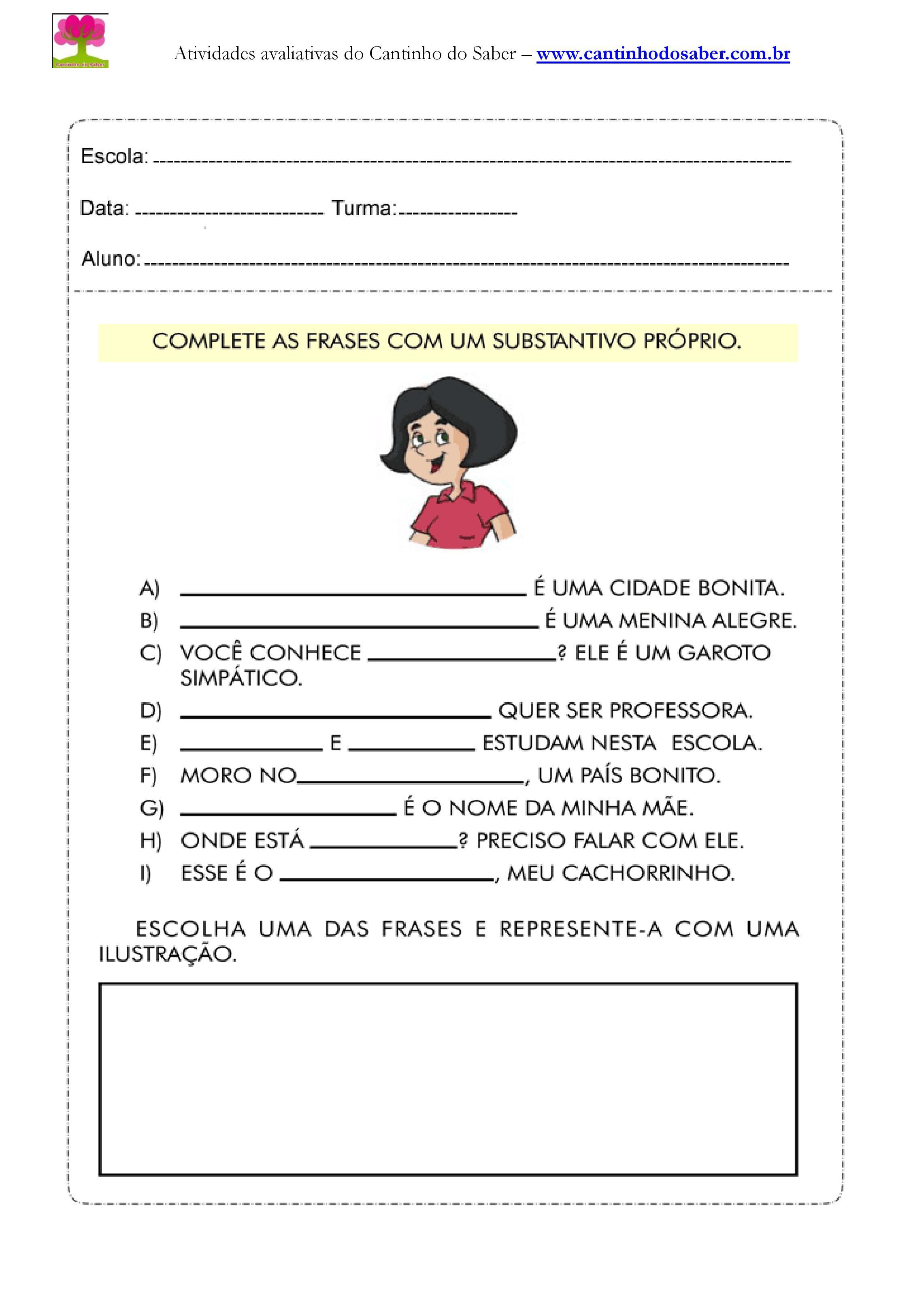 Atividades de portugues para o quarto ano (12)