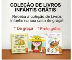 Receba 2 livros infantis grátis em sua residência