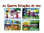 Plano de aula para as quatro estações com atividades educativas para o 2º ano