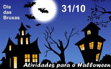 Atividades para o dia das bruxas e halloween