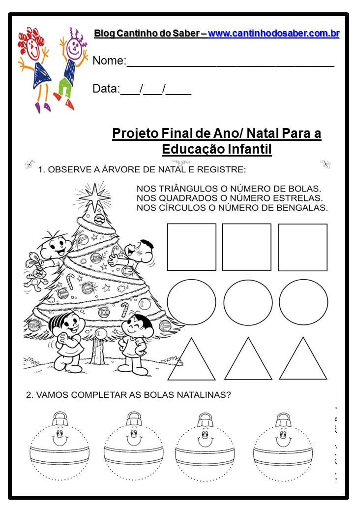 Dia do natal v rias atividades para a educa o infantil for Mural de natal 4 ano
