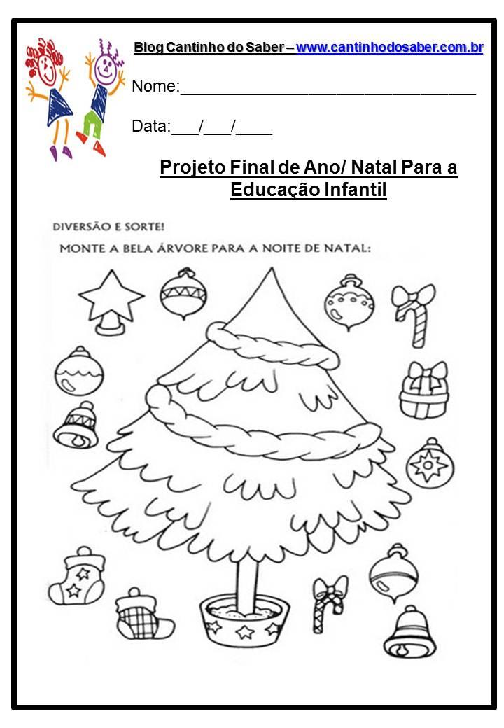Excepcional Arquivos atividades para o dia do natal - Atividades para a  SD45