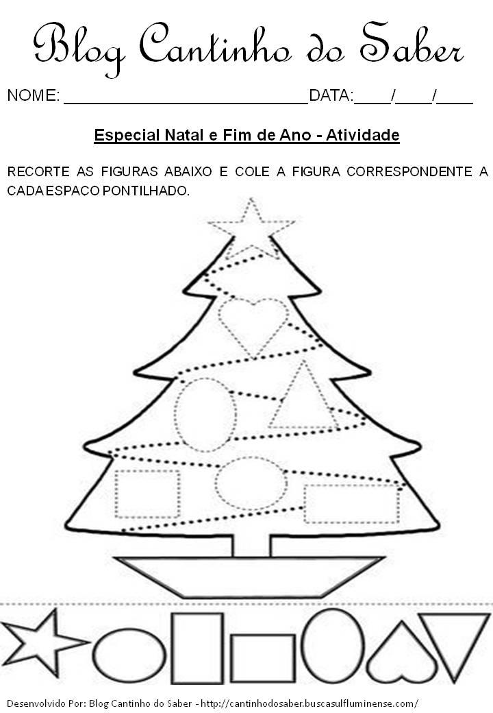 Famosos Dia do Natal várias atividades para a Educação Infantil TC35