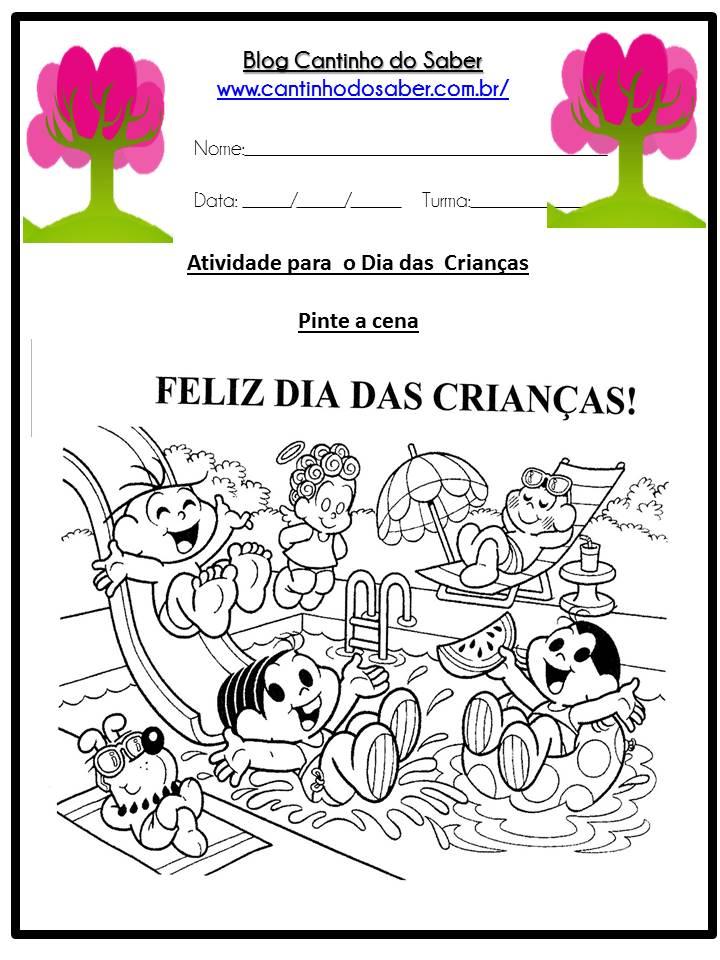 Fabuloso Dia das Crianças várias atividades para a Educação Infantil SI02
