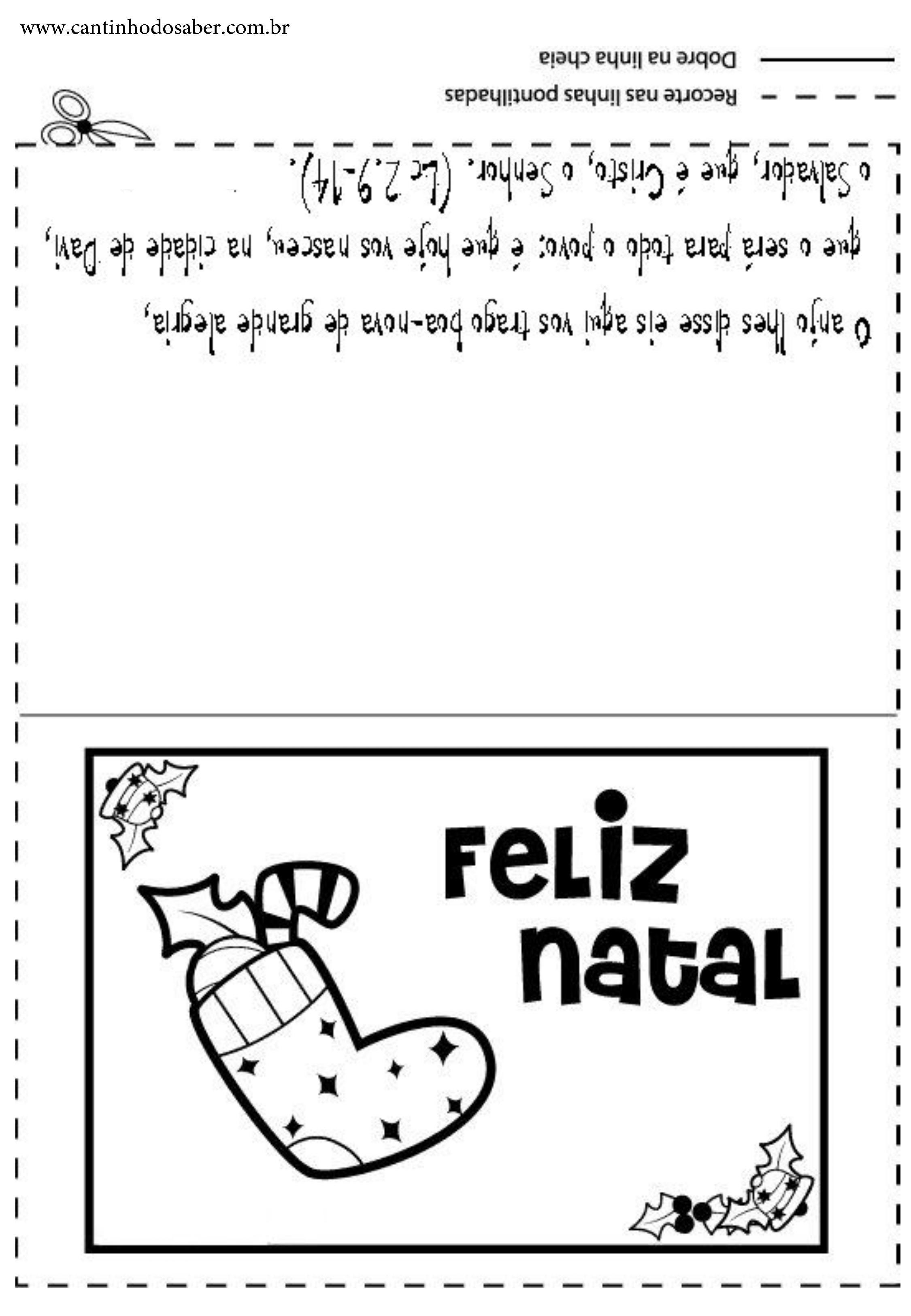 imagens para cart o de natal do papai noel para colorir
