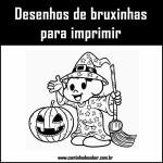 Desenhos de bruxas para o halloween