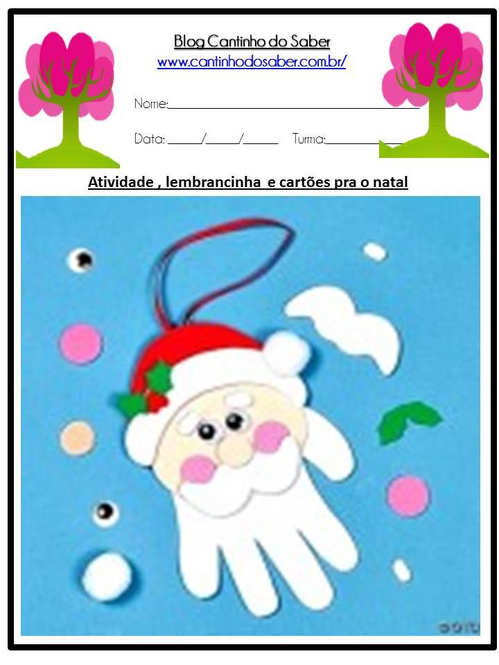 Lembrancinhas para o natal