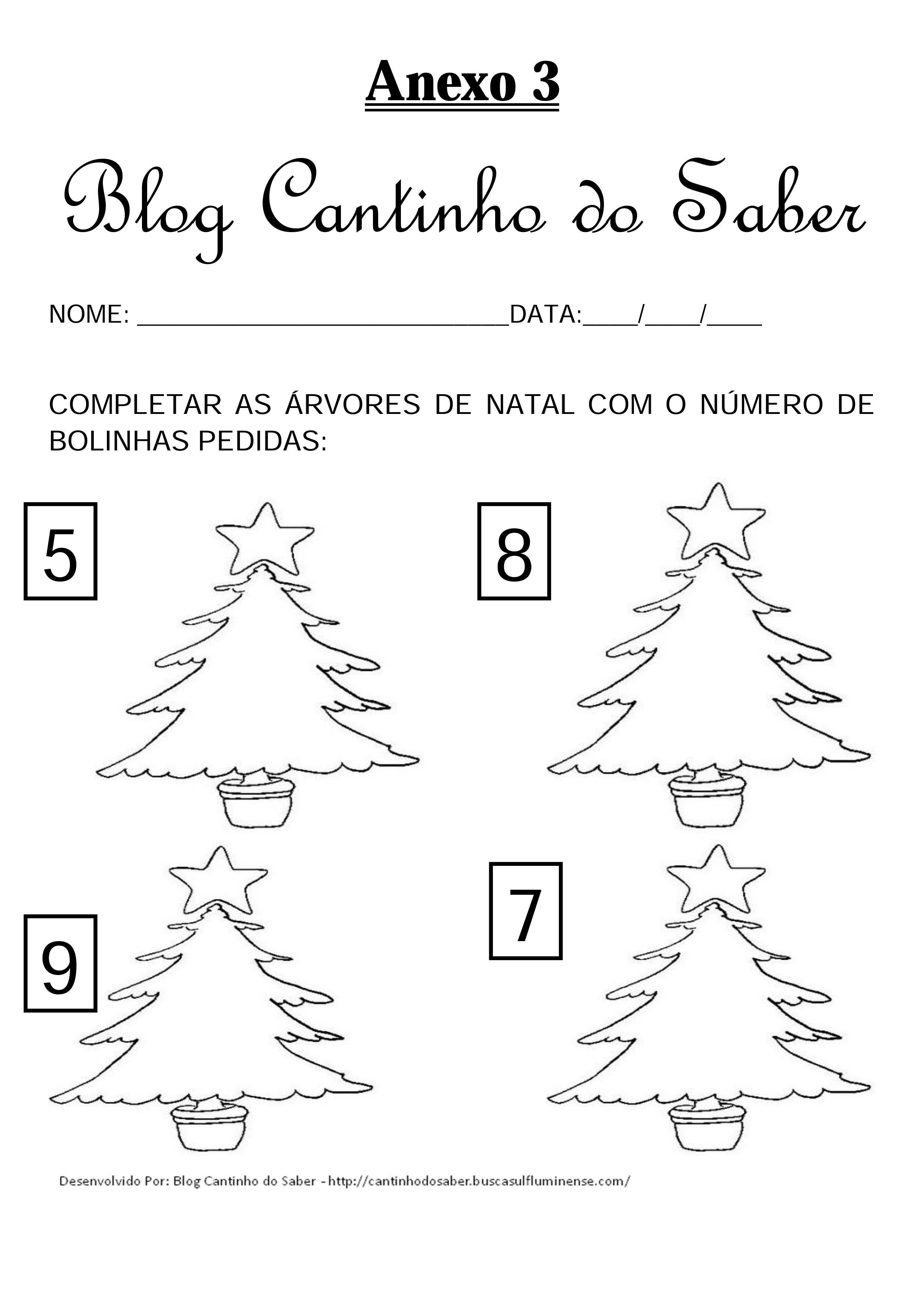 Projeto de Natal para a Educação Infantil