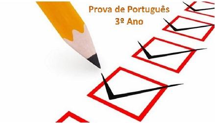Prova de Português para o 3º Ano