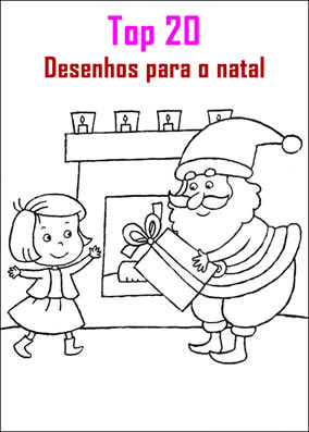 top 20 desenhos de natal