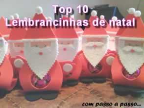 as melhores lembrancinhas do natal com passo a passo