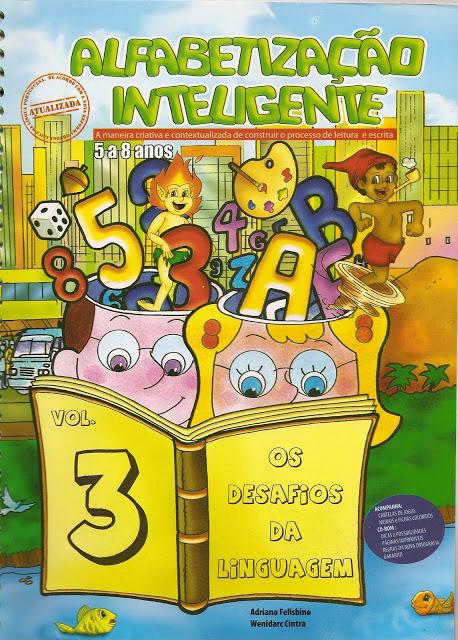 Livro Alfabetização Inteligente Volume 3