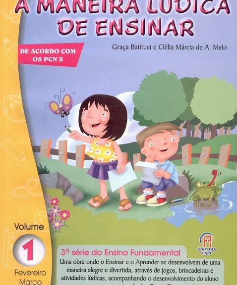 Livro A maneira lúdica de ensinar para o terceiro ano
