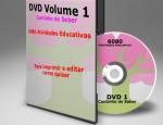 Receba atividades em sua casa com frete grátis – DVD Cantinho do Saber Vol.1