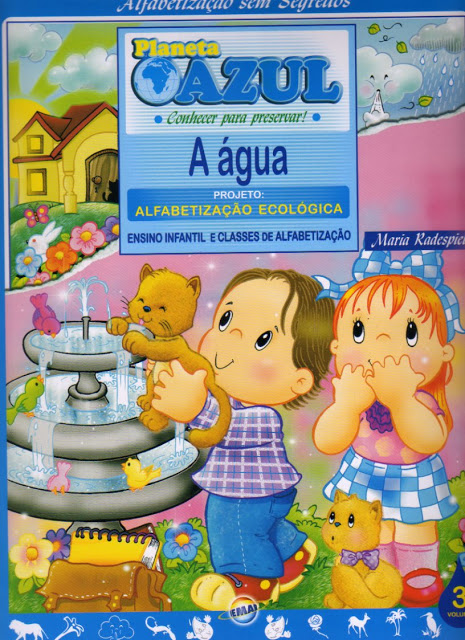 Projeto Alfabetizacao Ecologica A Agua Completo