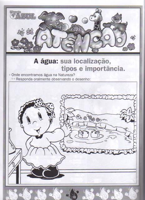 Livro Projeto Alfabetização Ecológica - A Água
