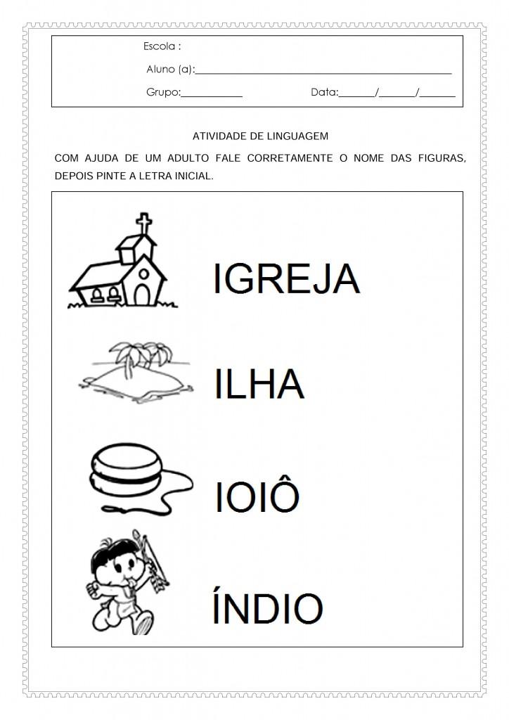 Atividades de linguagem para o maternal