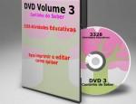 Receba atividades em sua casa com frete grátis – DVD Cantinho do Saber Vol.3