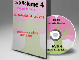 DVD Cantinho do Saber Volume 4