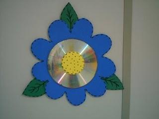 Lembrancinhas com CDs reciclados para o natal