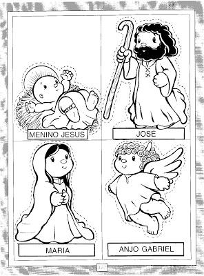 Presépio para o natal