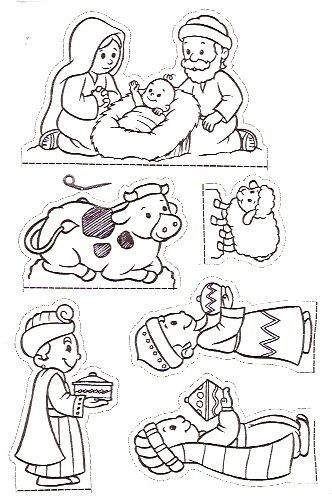 personagens de presépio para montar recortar natal atividade (67)