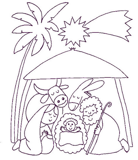 personagens de presépio para montar recortar natal atividade (68)