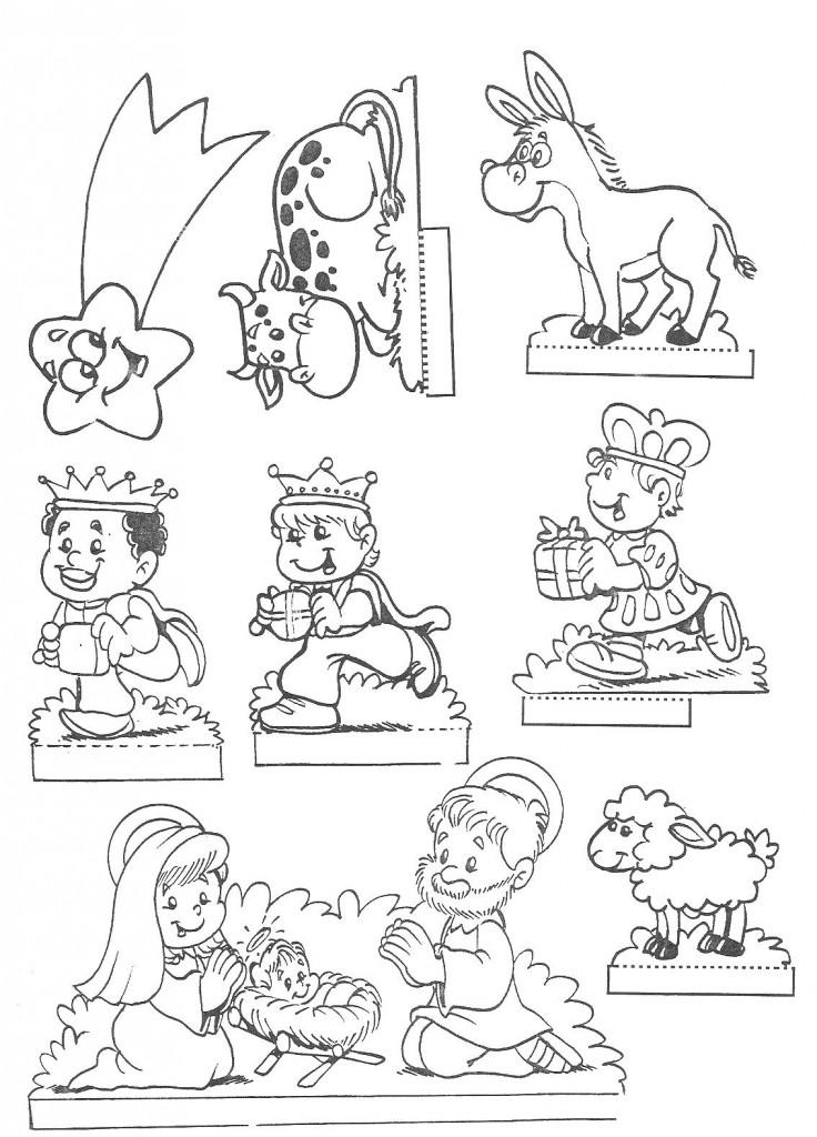 personagens de presépio para montar recortar natal atividade (69)