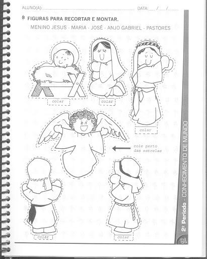 personagens de presépio para montar recortar natal atividade (71)