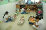 O que trabalhar com crianças do Berçário (0 a 2 anos)