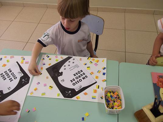 O que trabalhar com crianças do Jardim I (4 a 5 anos)