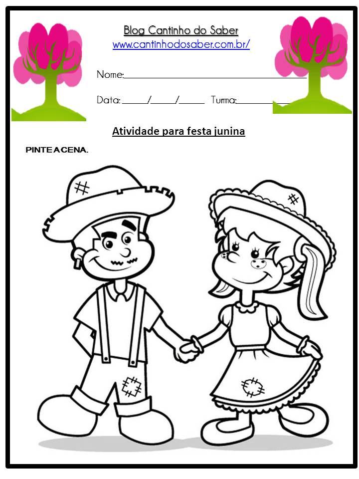 Atividade Sobre a Festa Junina Para a Educação Infantil (1)