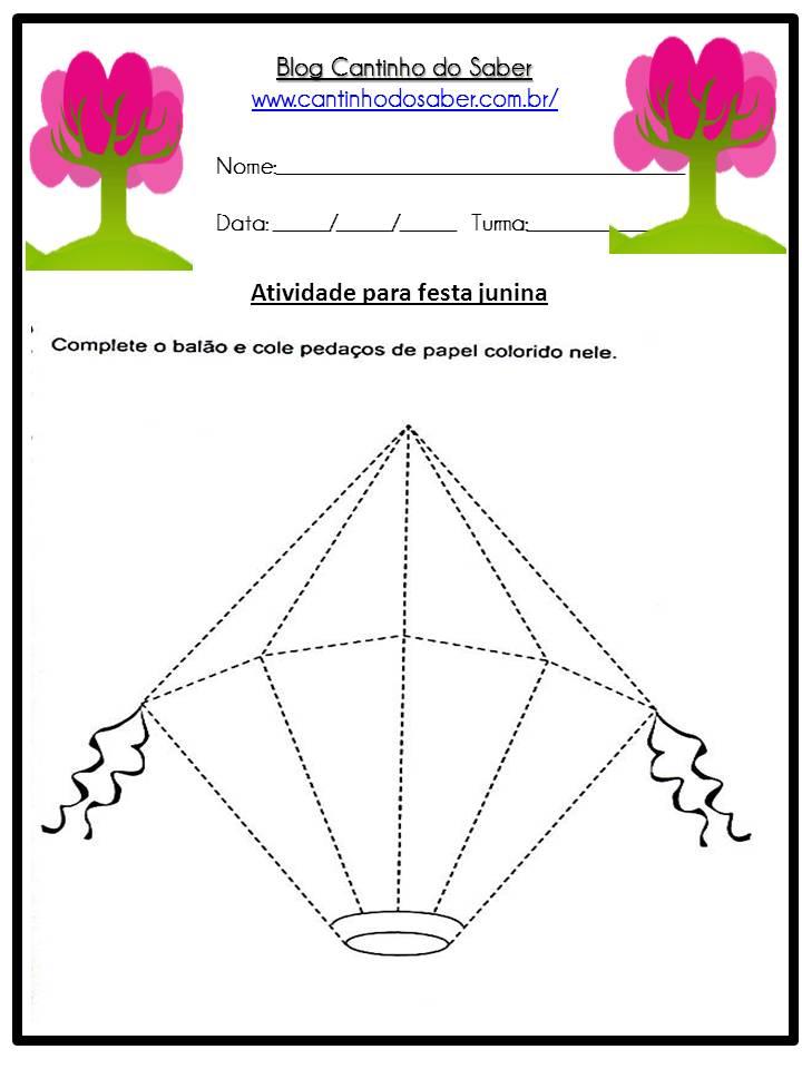 Atividade Sobre a Festa Junina Para a Educação Infantil (11)
