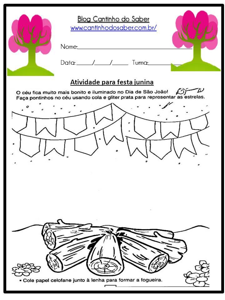 Atividade Sobre a Festa Junina Para a Educação Infantil (12)