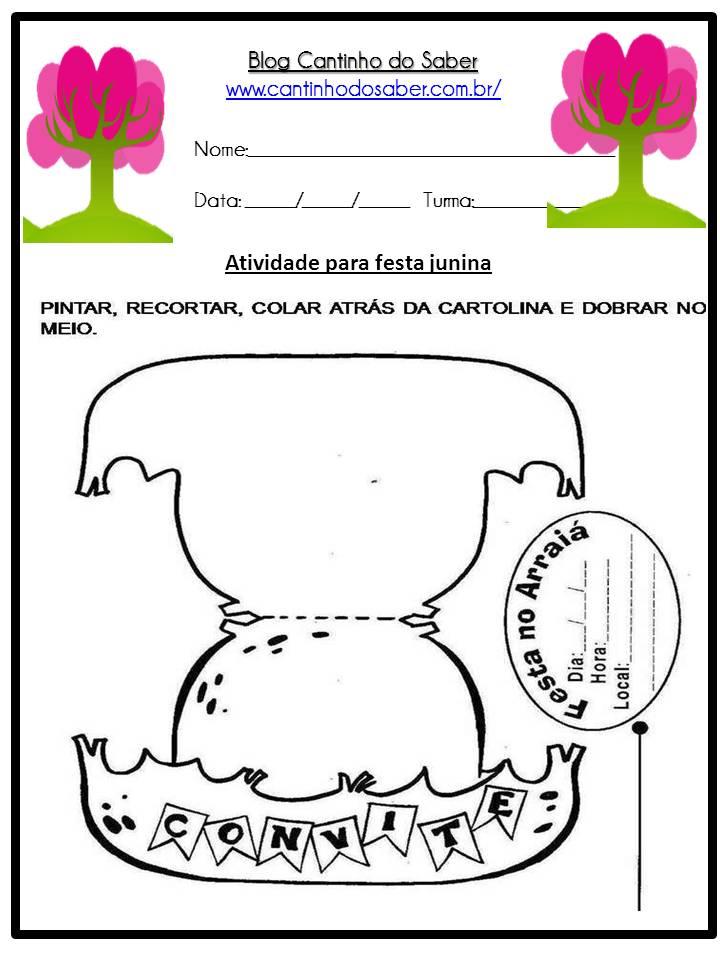 Atividade Sobre a Festa Junina Para a Educação Infantil (13)