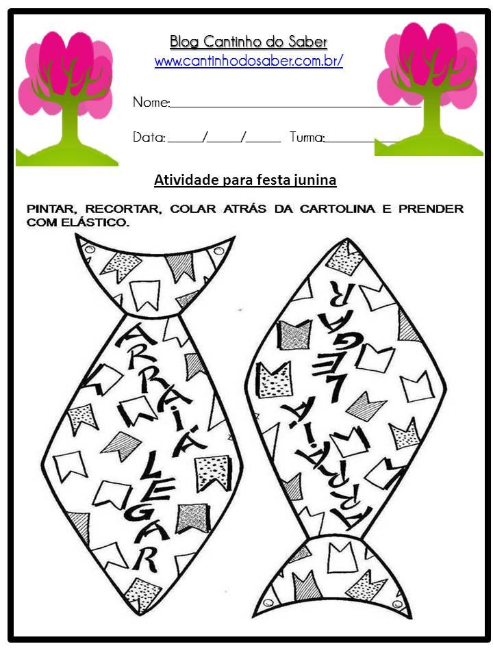 Atividade Sobre a Festa Junina Para a Educação Infantil (14)