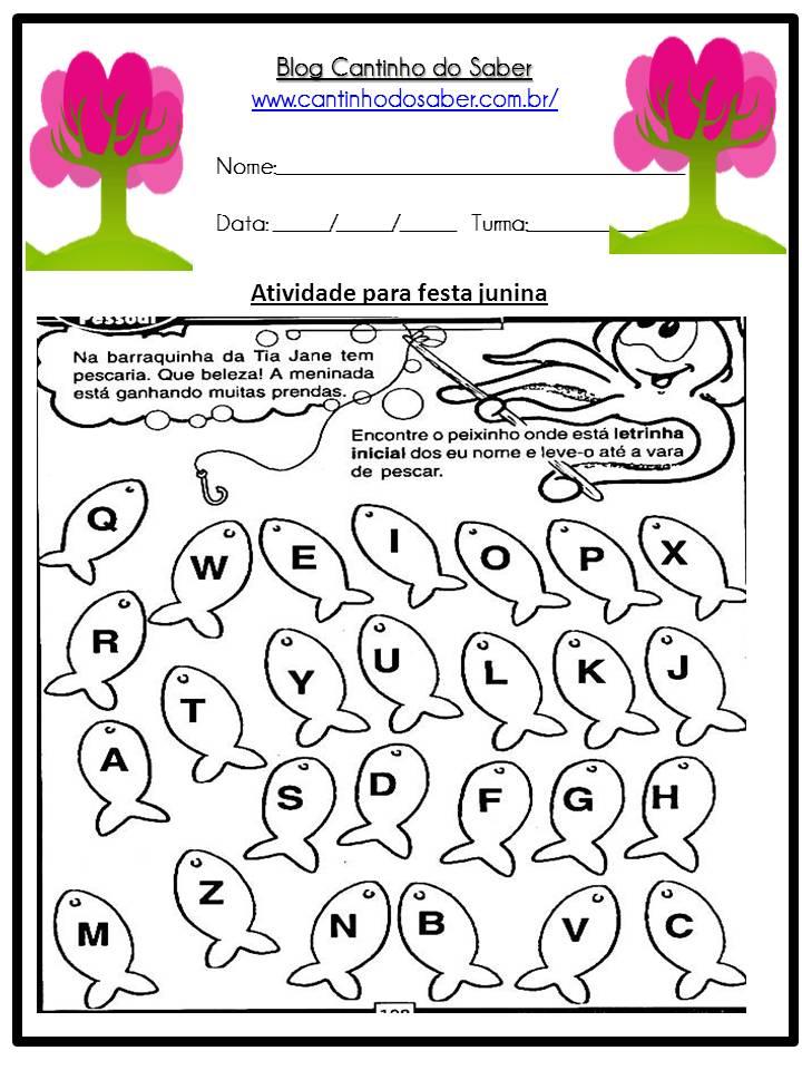 Atividade Sobre a Festa Junina Para a Educação Infantil (16)