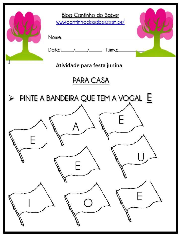 Atividade Sobre a Festa Junina Para a Educação Infantil (17)