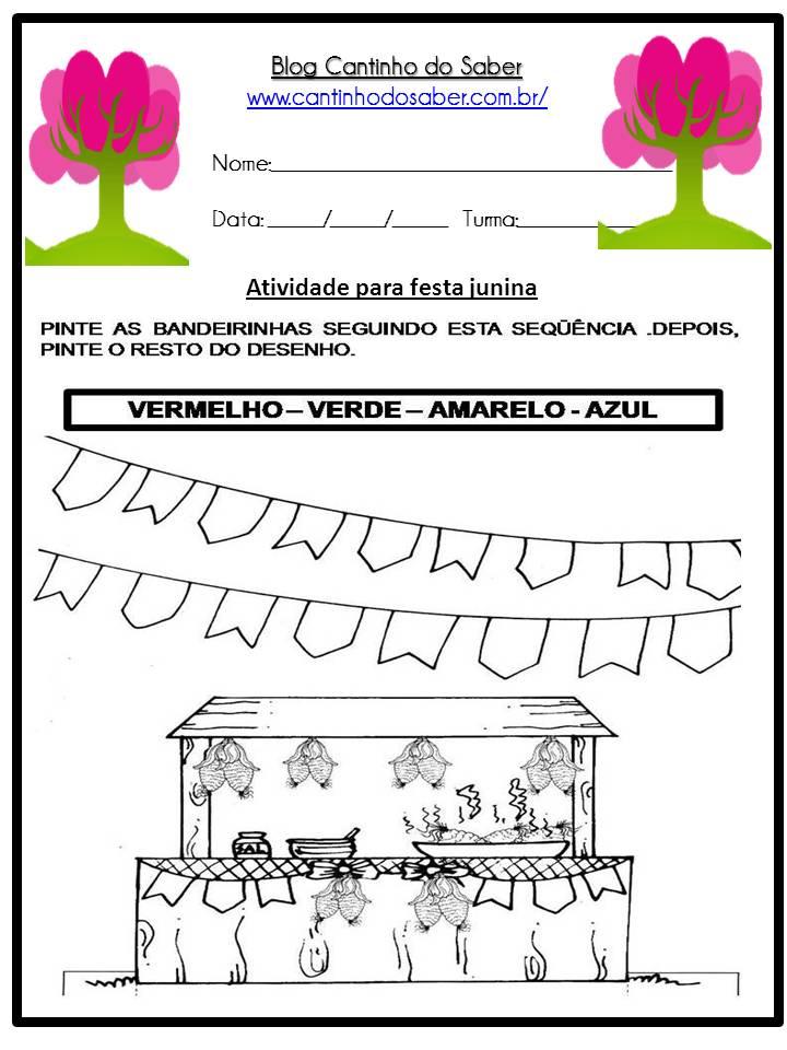Atividade Sobre a Festa Junina Para a Educação Infantil (22)