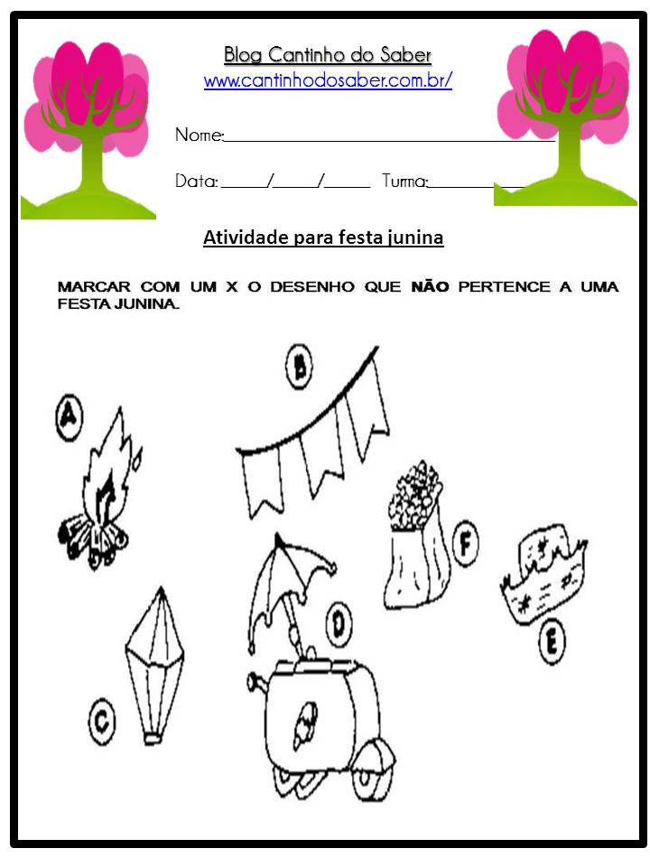 Atividade Sobre a Festa Junina Para a Educação Infantil (23)
