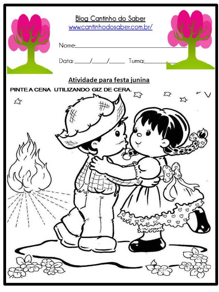 Atividade Sobre a Festa Junina Para a Educação Infantil (24)