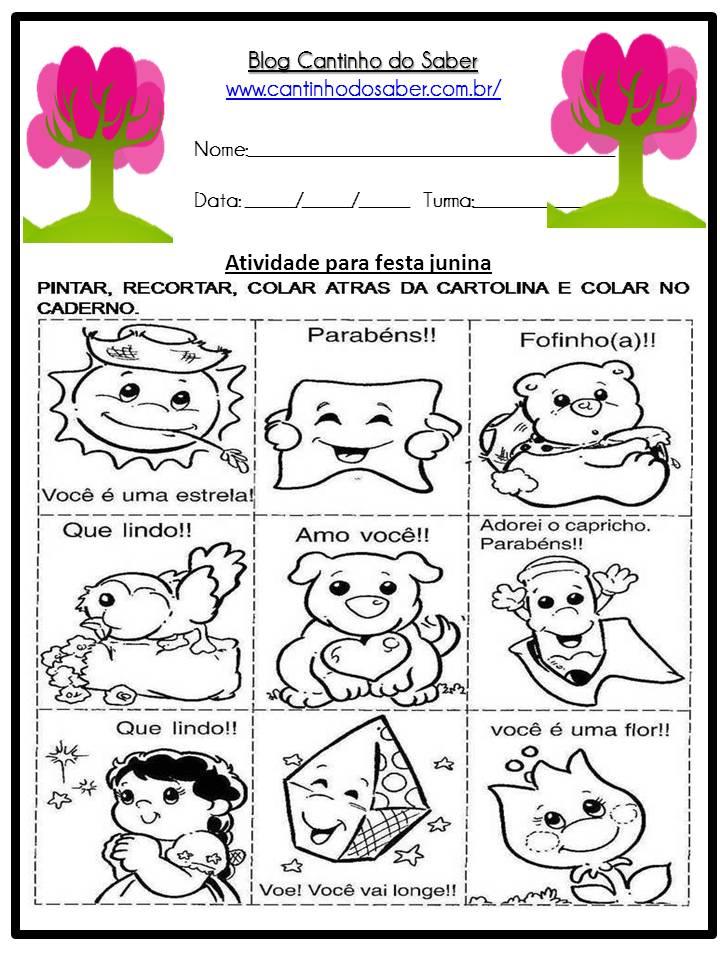 Atividade Sobre a Festa Junina Para a Educação Infantil (2)