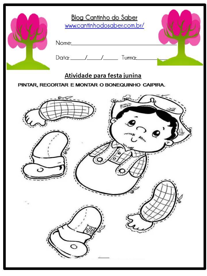 Atividade Sobre a Festa Junina Para a Educação Infantil (25)