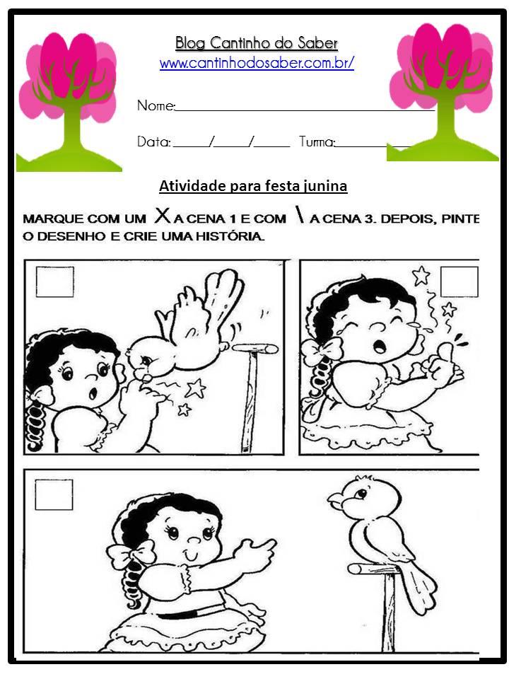 Atividade Sobre a Festa Junina Para a Educação Infantil (26)
