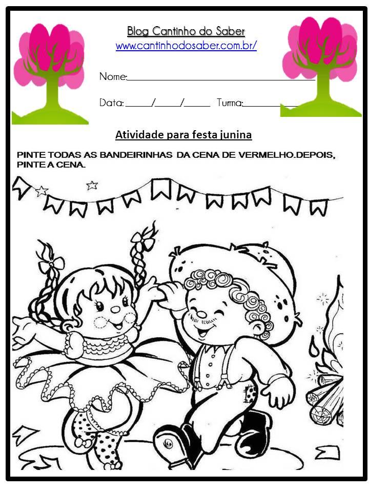 Atividade Sobre a Festa Junina Para a Educação Infantil (28)