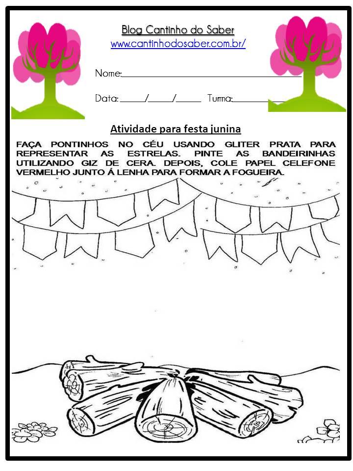 Atividade Sobre a Festa Junina Para a Educação Infantil (29)